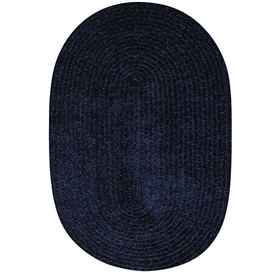Better Trends Chenille Braid Oval Rug Jcpenney
