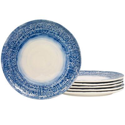High Quality Tabletops Gallery® Castleware Set Of 6 Melamine Dinner Plates
