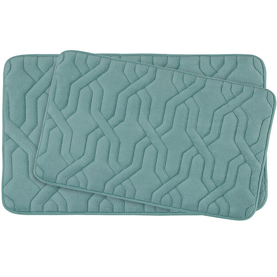 Bounce Comfort Drona Premium Extra Thick Memory Foam 2-pc. Bath Mat Set