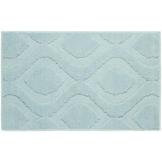 Jean Pierre Mia Plush Textured Bath Mat Collection