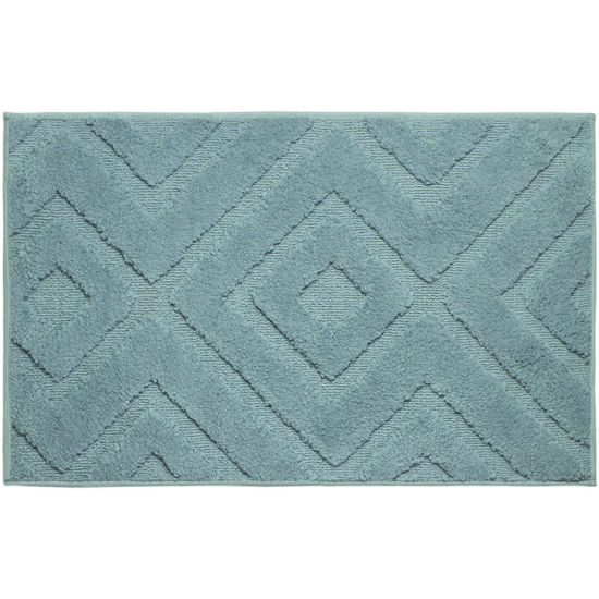 Jean Pierre Lilah Plush Textured Bath Mat Collection