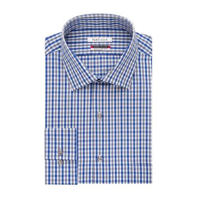 Van heusen long sleeve flex collar dress shirt big for Van heusen shirts flex collar