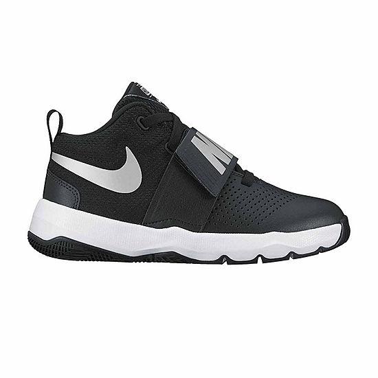 7f60a294fe6 Nike Team Hustle D 8 Boys Basketball Shoes Big Kids JCPenney
