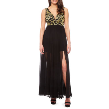 Renn Sleeveless Evening Gown