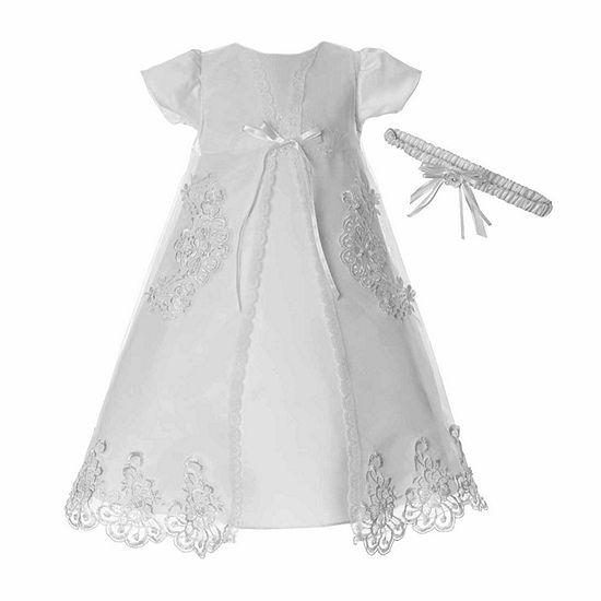 Keepsake Girls Short Sleeve Cap Sleeve Dress Set - Baby