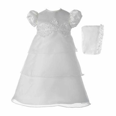 Keepsake Short Sleeve Cap Sleeve Dress Set Baby Girls