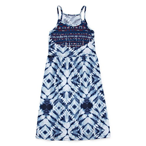 City Streets Sleeveless Swing Dresses - Girl's 4-16 and Plus