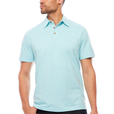 Island Shores Short Sleeve Jersey Polo Shirt