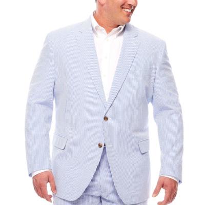 Stafford Seersucker Blue White Jacket BT