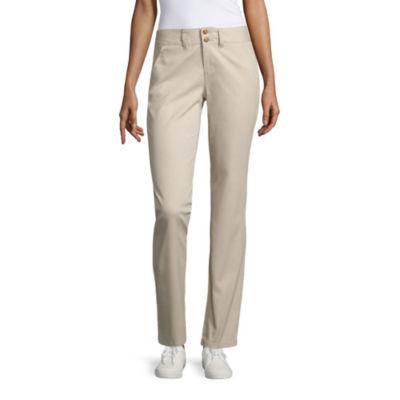 U.S. Polo Assn. Chino Flat Front Pants-Juniors