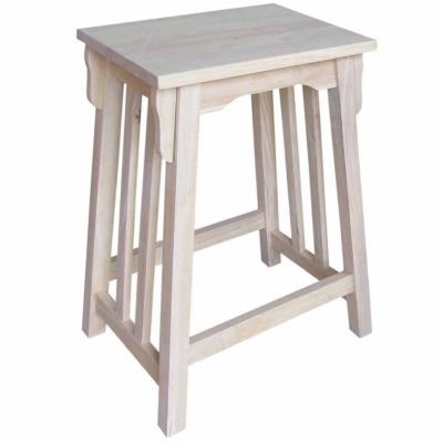 Mission Counter Height Bar Stool