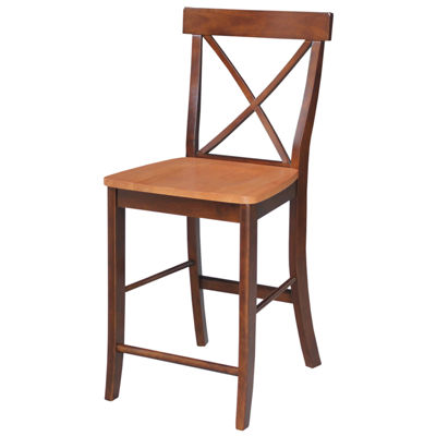 X-Back Counter Height Bar Stool