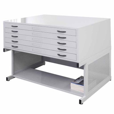"40"" Flat File Stand File Cabinet"