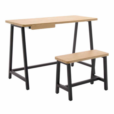 2-Pc. Ashwood Homeroom Standing Desk