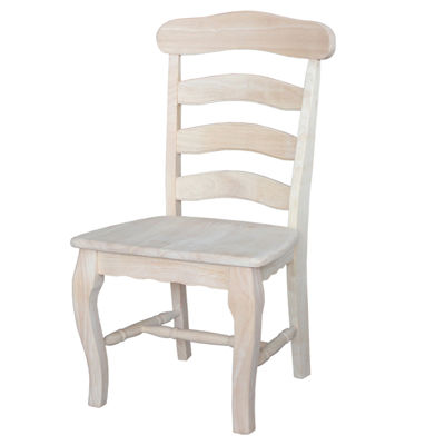 Country French Ready To Finish 2-pc. Side Chair
