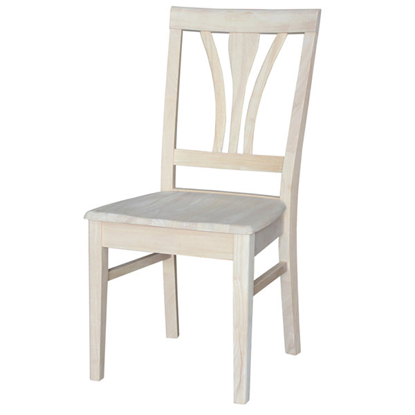 Fanback Ready To Finish 2-pc. Side Chair