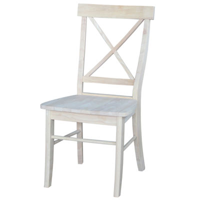 X-Back Ready To Finish 2-pc. Side Chair
