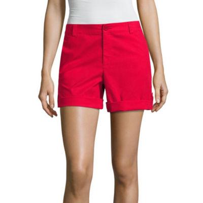 "Liz Claiborne® 5"" Cargo Shorts"
