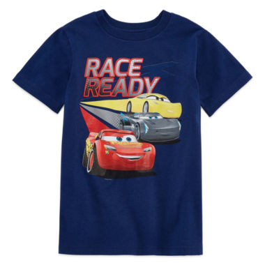 Disney Short Sleeve Cars T-Shirt-Big Kid