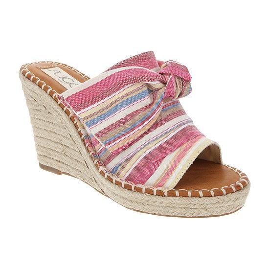 Sugar Womens Holdyn Heeled Sandals