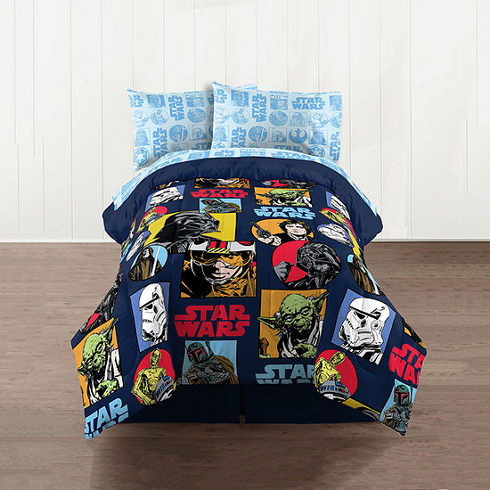 Galactic Star Wars Reversible Comforter