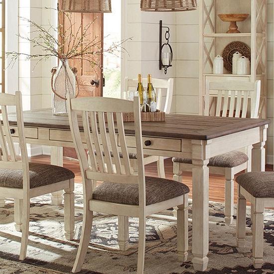 Signature Design by Ashley® Roanoke 5-Piece Rectangular Dining