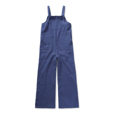 Arizona Little & Big Girls Sleeveless Jumpsuit