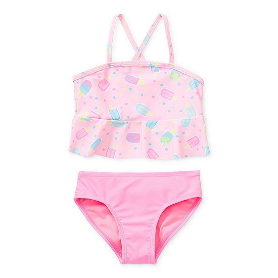 Okie Dokie - Toddler Girls Tankini Set