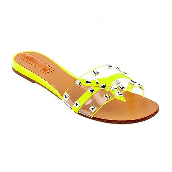 GC Shoes Womens Lora Flat Sandals