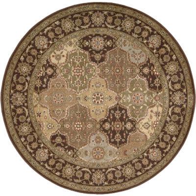 Nourison® Old World Carved Round Rug