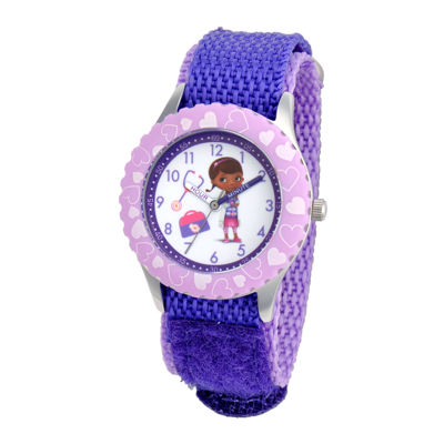 Disney Kids Doc McStuffins Character Time Teacher Watch