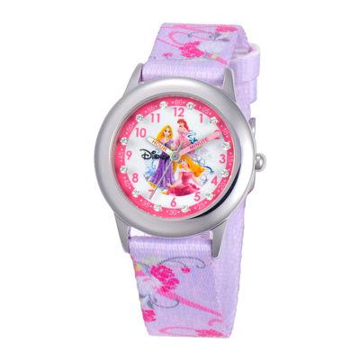 Disney Time Teacher Princesses Purple Strap Watch