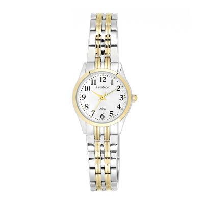 Armitron® Now® Womens Two-Tone Adjustable Bracelet Watch
