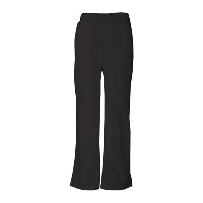 Dickies® 86206 Womens Drawstring Cargo Scrub Pants–Petite