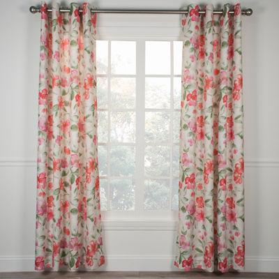 Arden Lined Grommet-Top Curtain Panel