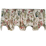 Brissac Lined Rod-Pocket Scalloped Valance