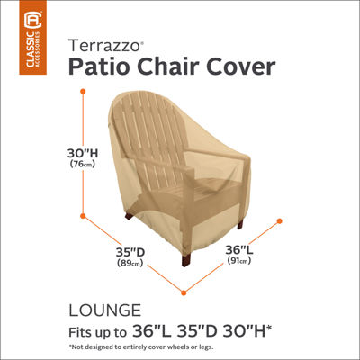 Classic Accessories® Terrazzo Lounge Chair Cover