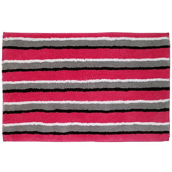 Avanti® Chloe Striped Bath Rug