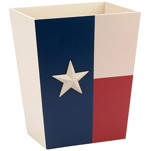 Avanti® Texas Star Wastebasket