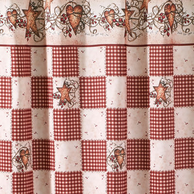 Avanti® Hearts & Stars Shower Curtain