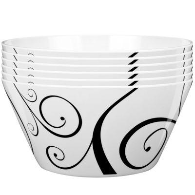 Zak Designs® Urbana Set of 12 Plastic Bowls