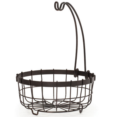 Gourmet Basics By Mikasa® General Store Center Piece Basket With Banana Hook