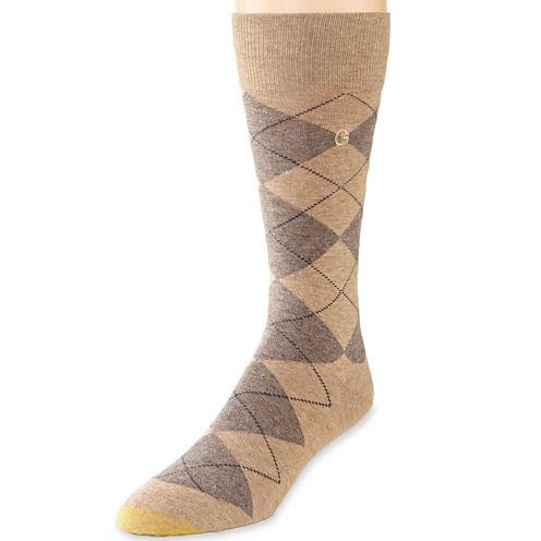 Gold Toe® Dress Argyle Crew Socks