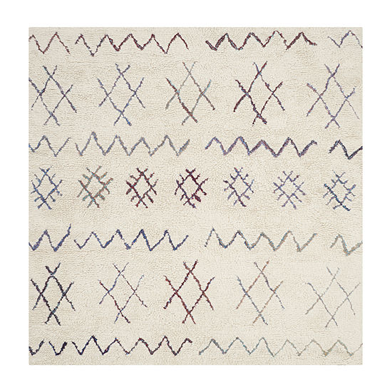 Safavieh Casablanca Collection Lula Geometric Square Area Rug