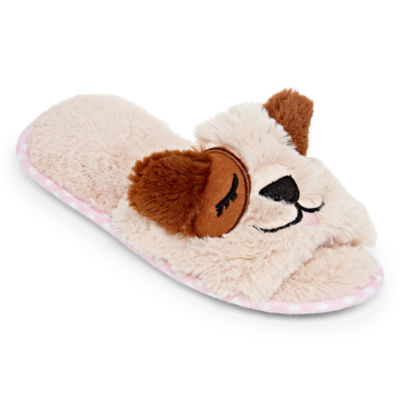 Pj Couture Open Toe Slip-On Slippers