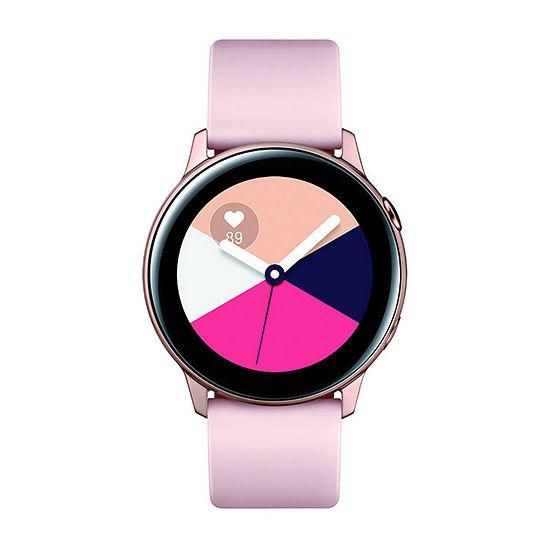 Samsung Galaxy Active Womens Rose Goldtone Smart Watch-Sm-R500nzdaxar