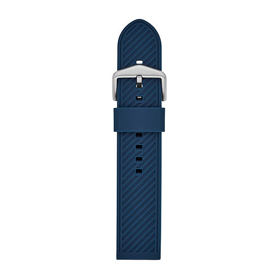 Fossil Smartwatches 22mm Mens Blue Watch Band-S221429
