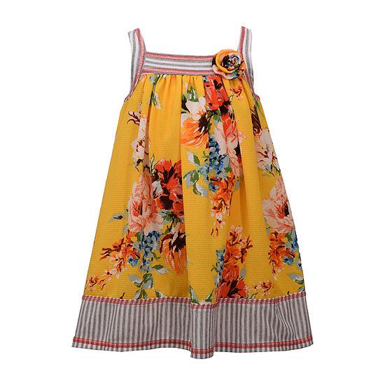 Bonnie Jean Girls Sleeveless Sundress - Toddler