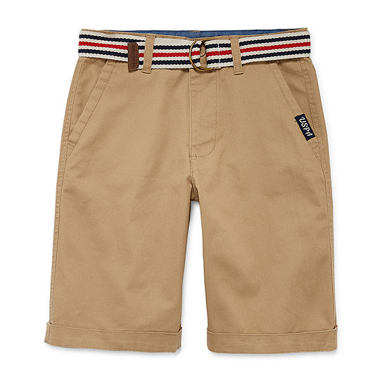 U.S. Polo Assn. Boys Pull-On Short Big Kid Husky