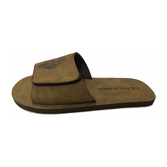 Us Polo Assn Velcro Slide Sandals